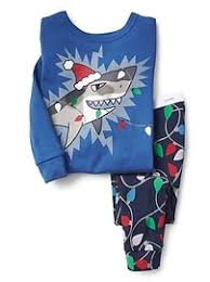 baby boys sleepwear at babygap gap ®  festive shark sleep set