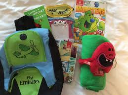 child amenities entertainment available on board your flight