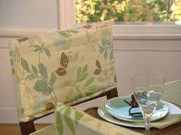dining chair slipcovers how to make dining room chair covers without sewing