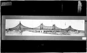 architectural drawings of bridges. [Architectural Drawing Of The Queensboro Bridge.] Architectural Drawings Bridges L