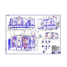 Лебедка ЛБУ К буровая с усовершенствованным тормозом Курсовая  Лебедка ЛБУ 1200К буровая с усовершенствованным тормозом Курсовая работа Оборудование для бурения нефтяных