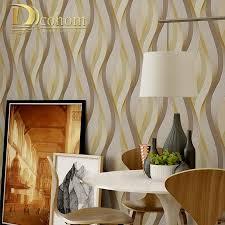 Kopen Goedkoop Mode Pvc Zwart Wit Zilver Gestreept Behang 3d Moderne