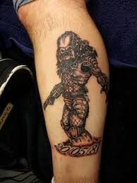 Doc Price And Bill Price Predator Tattoo Plymouth By Bill Flickr