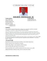 Electrical Technician Cv Pdf Yupar Magdalene Project Org