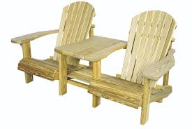 wooden outdoor furniture plans. Adirondack Settee | Outdoor Lawn Furniture Wooden Plans N