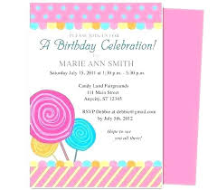 Girl Birthday Invitation Template Teenage Birthday Party Invitation Templates Guluca