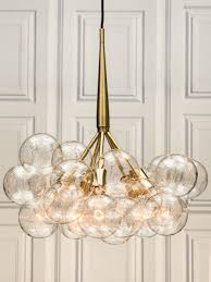 Amazing Large Glass Globe Chandelier Mid Century Chandelier Midcentury  Style Murano Glass Globe Globe - One enjoyable task that is component  residence deco
