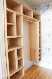 learn how to build this diy closet organizer from lovely etc this tutorial takes you through making these cubby shelves step by step we love this ideas