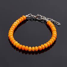 Купить <b>Браслет коралл оранжевый</b> Индонезия <b>огранка</b> 5,5-6 мм ...