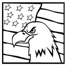 Veterans Coloring Pages Veterans Day Coloring Page Eagle And Us Flag