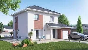 Maison à étage De 4 Chambres Maximum Et Jusquu0027à 105 M², Ce Modèle Propose  Un étage Partiel, Qui Ne Se Prolonge Pas Au Dessus Du Garage.