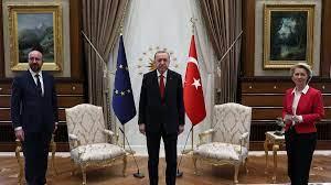 Ursula von der Leyen snubbed by Erdogan in sofa faux pas
