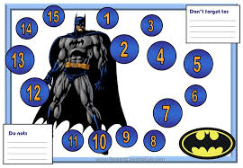 Batman Behavior Chart Printable Batman Behavior Sticker Chart Check This