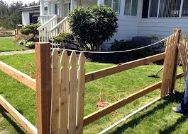 building a fence on uneven ground installing a picket fence on uneven ground round designs building