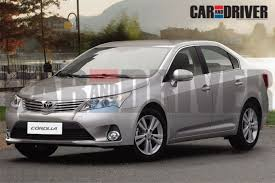 new car releases 2013Next Generation Toyota Corolla Launch In 2013
