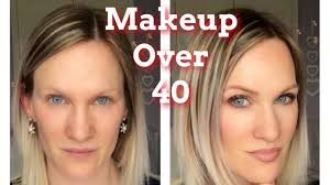 look younger with natural makeup makeup over 40 simple affordable makeup mice barber