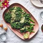 broccolini with creamy lemon sauce
