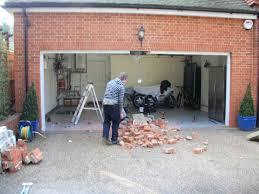 converting 2 garage doors into 1 wageuzi