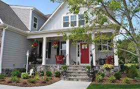 Beautiful Scenery Landscaping Ideas for Front of House : Landscaping Ideas  For Front Of House Full