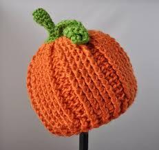 Crochet Pumpkin Hat Pattern