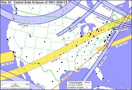 2017 Solar Eclipse Chart Total Solar Eclipses In The Usa Earth Earthsky