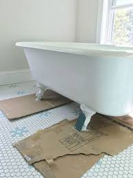 with all of those factors urging us to go deeper and more dramatic with the outside of this tub we considered 45 731 paint swatches just kidding