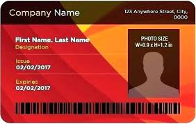 Photography Templates Business Wonderful Card For Id Identity Template Impressive