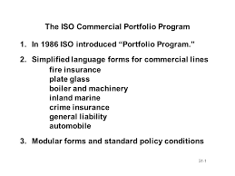 1 31 1 the iso commercial