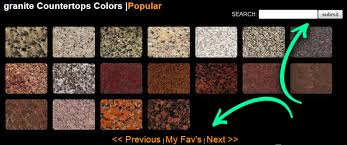 granite countertops colors search