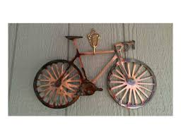 awesome red metal bicycle wall art bicycle wall art bicycle with regard to most current bicycle on red bicycle metal wall art with view photos of bicycle wall art decor showing 16 of 20 photos