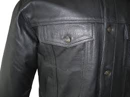 mens denim style leather jackets cairoamani com