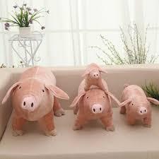 Розовые детские игрушки Свинка плюшевая мягкая игрушка ...