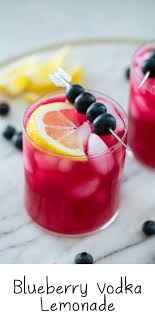 See the wide range of cocktail recipes and make yours at home! Blueberry Vodka Lemonade Recipe We Are Not Martha