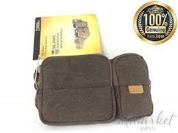New <b>NATIONAL GEOGRAPHIC</b> Body Bag Africa Collection 0.9L <b>NG</b> ...