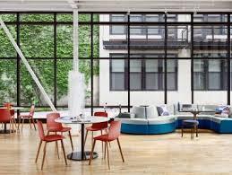 Social Hub Office Social Space Cafe Design Plans Steelcase