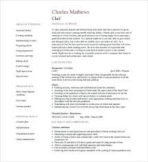 Chef Resumes Examples Prep Chef Resume Download Cook Pm Resume