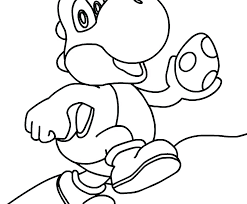 Toad Mario Coloring Pages Super Mario Bros Toad Coloring Page Free