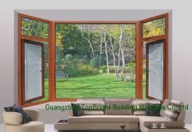 china aluminium french casement inward opening window with blinds china economic windows whole window
