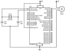 component microcontroller motor control speed interfacing servo single phase induction motor at Weg Single Phase Motor Wiring Diagram With Start Run Capacitor
