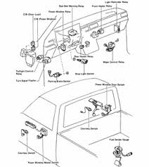 toyota pickup turn signal fuse questions & answers (with pictures 1985 toyota pickup fuse box diagram at 1985 Toyota Pickup Fuse Box Location