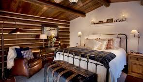 Rustic Master Bedroom Rustic Master Bedroom Designs Brown Fabric Hanging Bed Placed