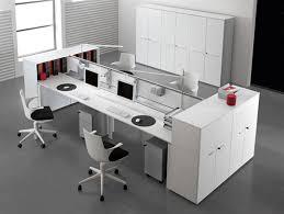 ... Modern Office Furniture Modular White Desk  Middlehome.com