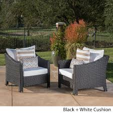 wicker patio furniture cushions. Best Wicker Chair Cushions Amazon For Your Patio Decor: Fabulous Black Chairs Furniture O