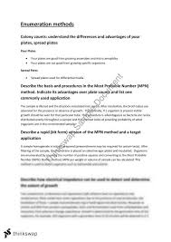 analytical microbiology enumeration methods  analytical microbiology enumeration methods