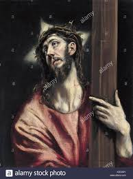 christ carrying the cross el greco theotokopoulos domenikos 1587 1596 madrid museo