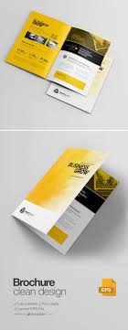 Freepiker | Corporate Creative Clean Bifold Brochure