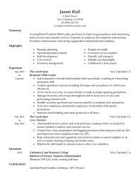 Fast Food Worker Resume fast food resume samples Socbizco 55