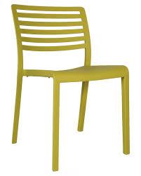 chair lama indoor outdoor plastic stacking chair chairs nz lama olive outdoor plastic chairs