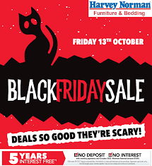 Black Friday Sale on at Harvey Norman Furniture Everything Geraldton