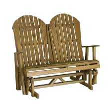 front porch glider bench cedar outdoor composite rocking chairs amish made patio furniture garden swing furnitu